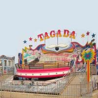 Wholesale Crazy Disco Amusement Park Equipment 20 - 40 Riders With 380v Voltage from china suppliers