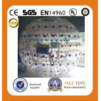 Wholesale 2014 high quality zorb ball with EN15649 certificate by colorful material from china suppliers