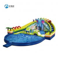 China New style elephant water paradise water park inflatable water slide on sale