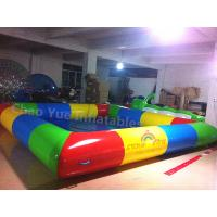 Wholesale High Quality Colorful Water Swimming Pool for water walking ball from china suppliers