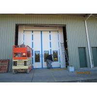 Side Downdraft Automotive Paint Spray Booth Car Painting Room OEM For Truck / Bus