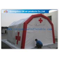 China Wind - Resistant Portable Inflatable Medical Tent for Emergency Aid on sale