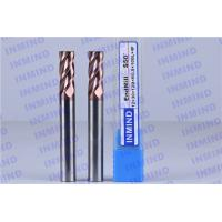 Quality SiN Coating 12 mm Dia R0.5 Corner Radius End Mill 4 Flute 30 mm Cutting Length for sale