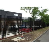 Wholesale Triple Pointed Steel Picket Palisade Fencing And Gates For Train Station Easily Assembled from china suppliers