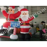 Buy cheap Christmas Inflatable Santa Claus from wholesalers