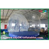 Wholesale 3m Dia Inflatable Holiday Decorations / Transparent Inflatable Chrismas Snow Globe for Advertising from china suppliers