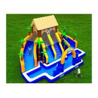 Wholesale High Durability 400KG 15mL*7mW*6mH Inflatable Water Park EN71 Certificated from china suppliers