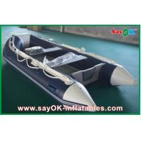 Wholesale Rigid Hull Fiberglass Small Inflatable Boats With Heavy Duty Aluminum Floor from china suppliers