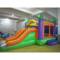Wholesale Shopping Mall Inflatable Castle Bouncer , Indoor Inflatable Bouncers With Slide from china suppliers