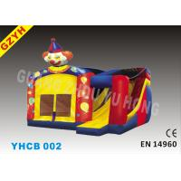 Wholesale Plato 0.55mm PVC Inflatable Combo Bouncers Slides YHCB-002 in 5*5*4m from china suppliers