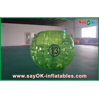 China Adults 1.5m Clear Bubble Ball Soccer TPU Eco - Friendly For Rental on sale