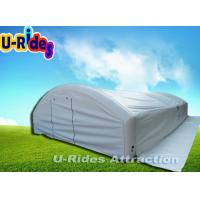 Wholesale 0.9mm PVC Waterproof Inflatable Dome Tent Air - Sealed Family Dome Tent With Flap from china suppliers
