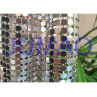 Wholesale Decorative Bling Aluminum Metal Sequin Fabric Light Silver With 4 Branches from china suppliers