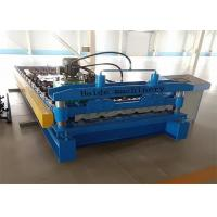 Wholesale 1000mm Galvanized Metal Roof Panel Roll Forming Machine 50Hz PLC Control from china suppliers