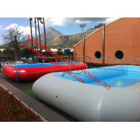 China large inflatable water pool toys inflatable pvc swimming pool inflatable pool mattress on sale