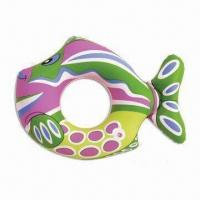 China Inflatable Swimming Ring/Water Float in Fish-shaped, Ideal for Promotions, OEM Orders are Welcome on sale