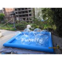 Wholesale Good Quality Transparent Inflatable Aqua Walking Ball with Water Pool for Kids and Adults from china suppliers