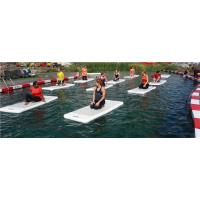 Wholesale Durable Fodable Aqua Yoga Mat For Open Sea Grey Color 1m - 30m Length from china suppliers