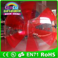 Wholesale water zorb ball water polo ball inflatable ball water ball water walking ball from china suppliers