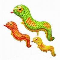Buy cheap Snake Balloon, Made of PA + PE, Measures 38 x 98cm from wholesalers
