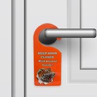 Buy cheap Door Hanger 3D PET Lenticular Printing For Hotel / Home Decoration from wholesalers