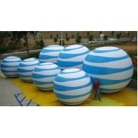 Wholesale White And Black Color Round Shape Inflatable Light Ball For Events Decoration from china suppliers
