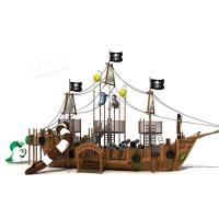 Wholesale Caribbean Challenges Backyard Pirate Ship Playground Environmental Protection For Kids from china suppliers