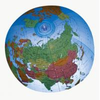 Wholesale pvc inflatable world map beach ball for advertising/ pvc beach ball with custom logo from china suppliers