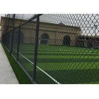 Wholesale Football Iron Fence Outdoor Sports Facilities With Plastic Cover Durable from china suppliers