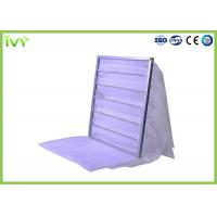 Wholesale Cleanroom Multi Bag Air Filters Synthetic Fiber Medium Material Purple Color from china suppliers