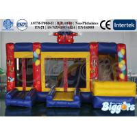 Wholesale Clown Commercial Inflatable Bouncer with Slide , Outdoor Jumping Castle Combo from china suppliers
