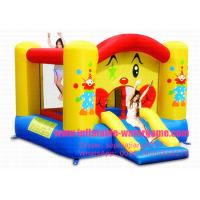 Wholesale Professional 4.5m Clown Inflatable Bouncy Castle , Childrens Bouncy Castle Hire from china suppliers