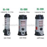 Wholesale Plastic Chlorine Feeder Automatic Pool Dosing Systems For Chemicals Grey Color from china suppliers