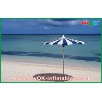 Wholesale Promotional Beach Parasol Custom Printed Compact Windproof Umbrella from china suppliers