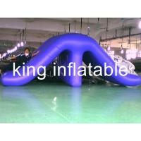 Wholesale Waterproof Outdoor Inflatable Water Slides , Commercial Water Pool Slide 0.9mm PVC from china suppliers