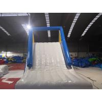 Wholesale Water Park Giant Inflatable Slide / Blow Up Water Slide For Inground Pool from china suppliers