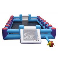 Wholesale Commercial human inflatable football pitch for outdoor sport games from china suppliers