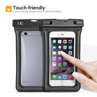 Wholesale Waterproof Phone Dry Bag Floating Waterproof Phone Pouch wiith Air-Filled Frame Function from china suppliers