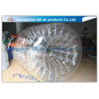 China PVC Transparent Inflatable Rolling Ball , Funny Huge Inflatable Walk On Water Ball on sale