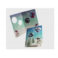 Wholesale Eco Friendly Lenticular Card Printing / Holiday Lenticular 3d Greeting Cards from china suppliers