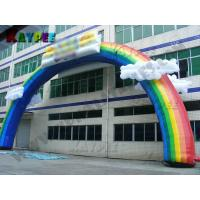 Wholesale Inflatable rainbow Arch,inflatable archway,advertising event inflatable,KAR012 from china suppliers
