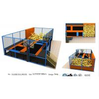 Buy cheap 78M2 Gym Fitness Indoor Jump Park/ Body Building Trampoline Park /Popular Used from wholesalers