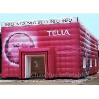 Wholesale Customized Colorful PVC Tarpaulin Cube Tent with Logo Printing from china suppliers
