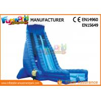 Wholesale Durable 30ft Tall Outdoor Inflatable Water Slides With Digital Printing from china suppliers
