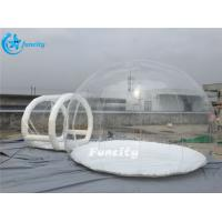 China 6m Diameter Size Inflatable Bubble Tent ,Inflatable Clear Bubble Tent on sale