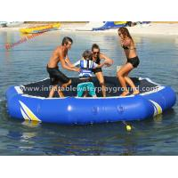 Wholesale Superb Inflatable Water Trampoline , Kids / Adults Water Trampoline Park For Lake from china suppliers
