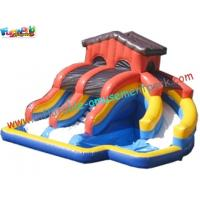 Wholesale Popular Outdoor Inflatable Water Slides , Inflatable Pool Slide With CE , EN14960 from china suppliers