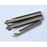 Wholesale 0.8 um Micro Grain Size Chamfer Cutting Tool / End Mill Cutter  With Solid Carbide from china suppliers