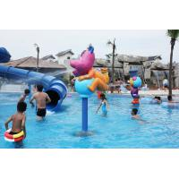 Wholesale 12.8m Height Anti - UV Aqua Blue Water Park , Aquasplash Water Park Equipment from china suppliers