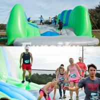China Giant Inflatable Jump Challenging Inflatable Games For Adults 25.9m * 9.1m * 4.6m on sale